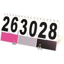 Offizielle KIN-BALL®-Anzeigetafel Pink/Schwarz/Grau
