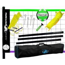 Hobby-Volleyball-Netzanlage Spiker Steel Sport