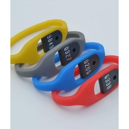 Bracelet silicone pour clés