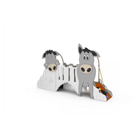 Deux tours ânes