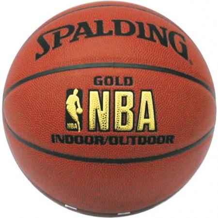 Ballon de basket Spalding NBA gold series T.7