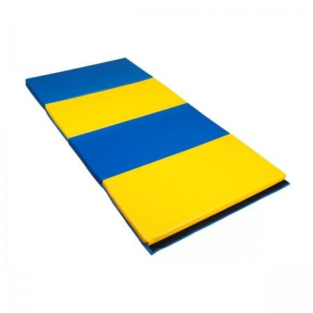 Tapis pliable de couleur