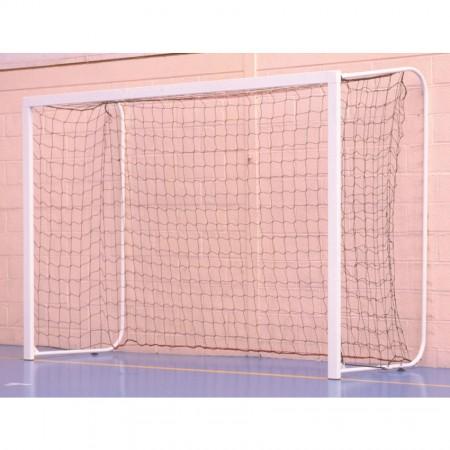 Paire de buts de handball en acier à ancrer