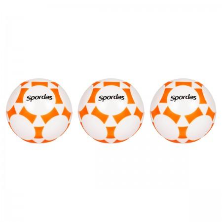 Lot de 3 ballons de jeu en PVC