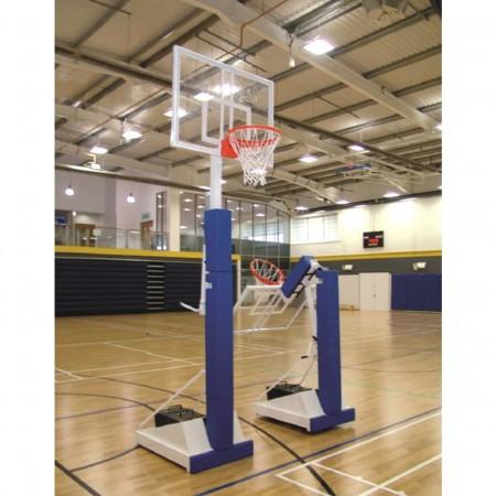 Tour mobile de basket-ball scolaire