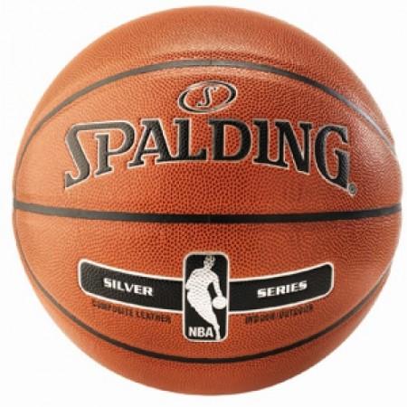 Ballon de basket Spalding Silver In/Outdoor taille 7