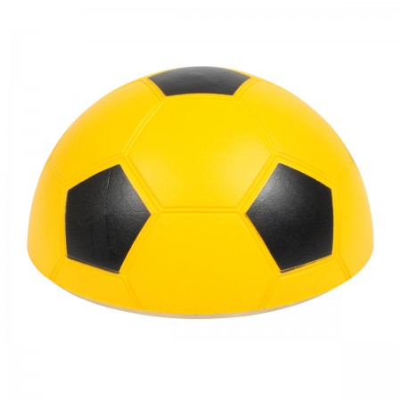 Demi-ballon de football en mousse 15cm