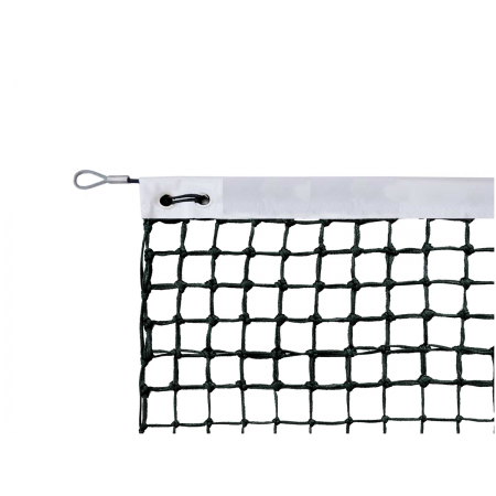 Filet de tennis 3mm avec bande de renfort