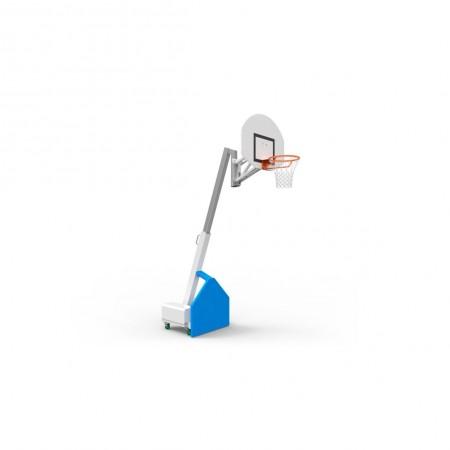 Tour mobile de basket-ball télescopique 120-305cm