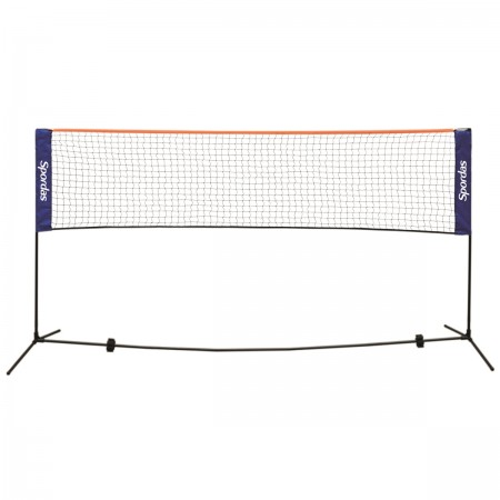 Filet de badminton et de mini-tennis portable