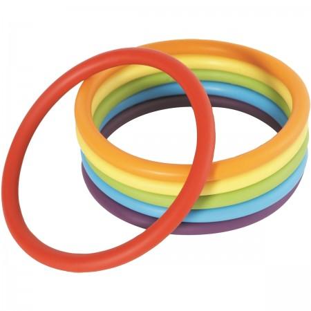 Lot de 6 anneaux d'activités