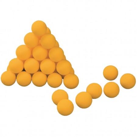 Lot de 12 balles de tennis de table en mousse