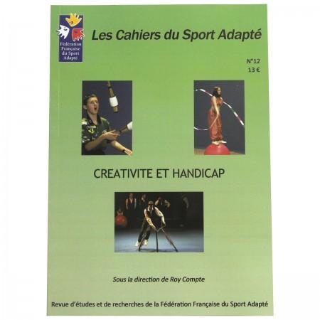 """Cahier du sport adapté """"Créativité et handicap"""" N°12"""