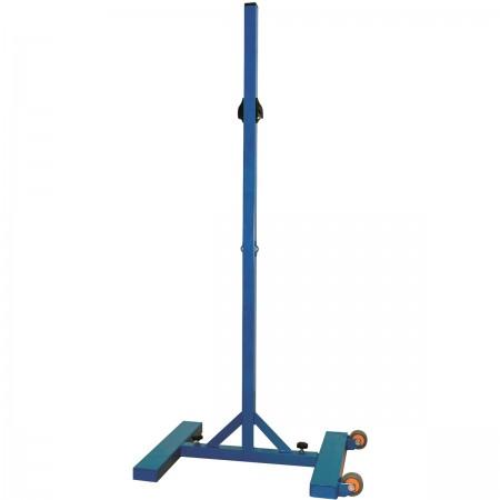 Poteau de badminton central d'entraînement