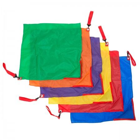 Lot de 6 drapeaux rythmiques 50cm