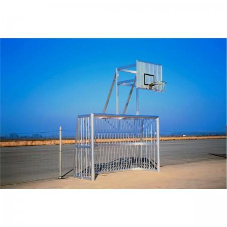 Combi hand-basket antivandalisme