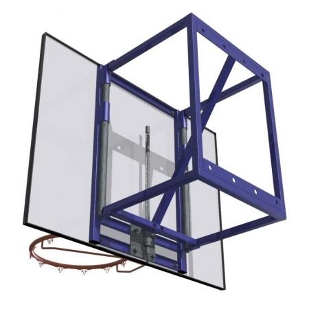 But de basket mural entraînement