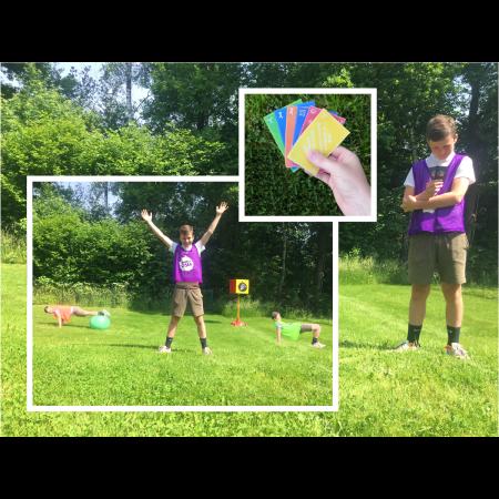 Poull Ball - Jeu de cartes Play with colors