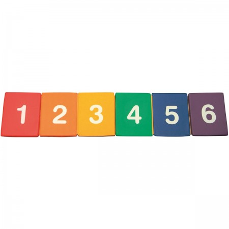 Tapis de saut multicolore