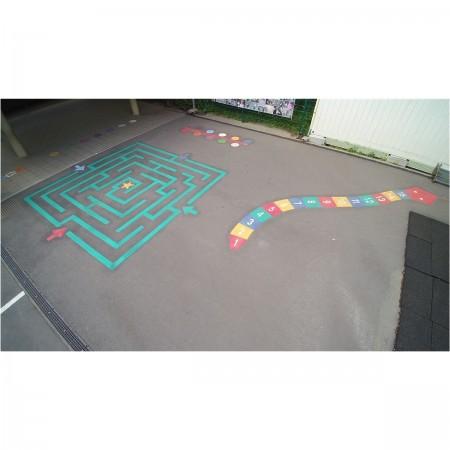 Labyrinthe carré