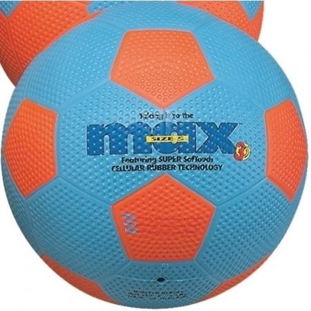 Ballons de foot Max taille 4 bleu/orange