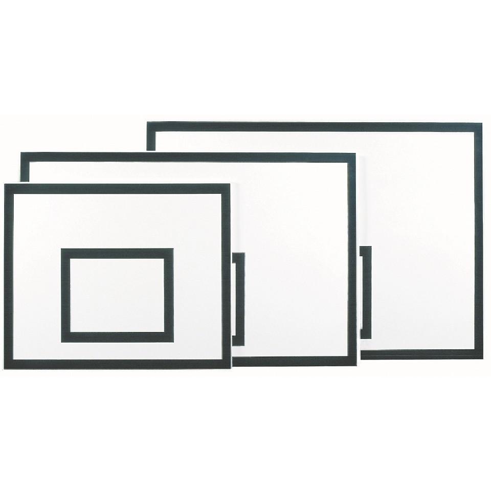 Panneau de basket bois recouvert polyester 120x90x2 4cm for Panneau de basket exterieur