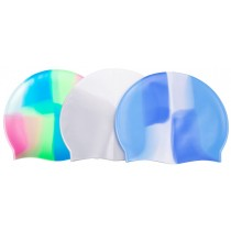 Bonnet silicone multicolore adulte