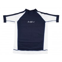 T-Shirt Adulte TECH SUN - Navy/blanc