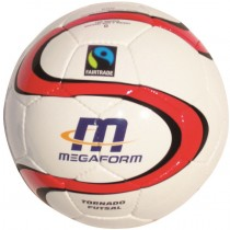 Ballon football en salle Megaform Fairtrade T.4