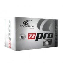 Boîte de 72 balles Cornilleau ProX72 (blanche)