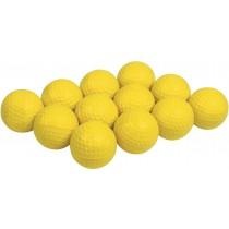 Lot de 12 Balles de golf en caoutchouc