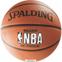 Ballon de basket Spalding NBA Outdoor Silver