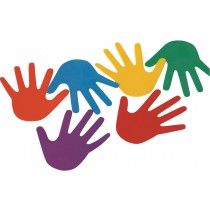 Lot de 6 mains