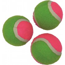 Lot de 3 balles de tennis velcro