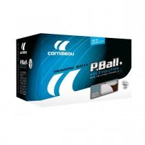 Boîte de 72 balles Cornilleau P-Balls ABS Evolution 1* (blanche)