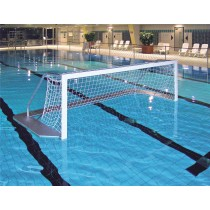 Paire de buts de water-polo en aluminium (filet 3mm)