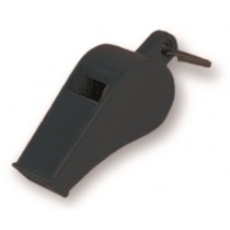 Sifflet en plastique noir