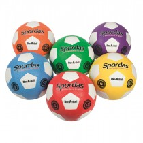 Lot de 6 ballons de football Dur-O-Sport