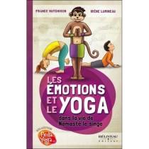 Livre Les émotions et le yoga dans la vie de Namasté le singe