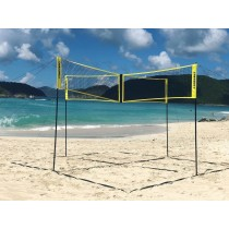 Installation de volley Crossnet Four Square