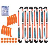 Kit Hockey2School - 12 joueurs - FR