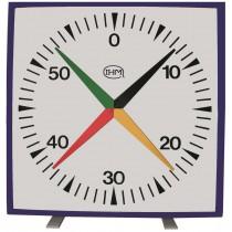 Horloge murale 4 aiguilles