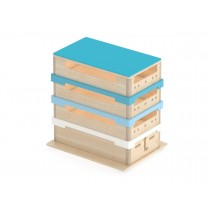 Plinth modulable