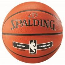 Ballon de basket Spalding NBA Outdoor Silver