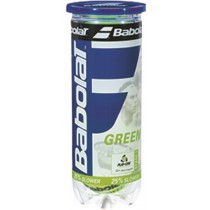 Tube de 3 balles tennis BABOLAT GREEN