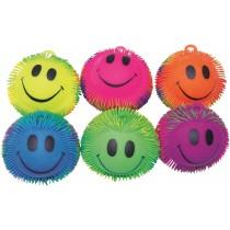 Balles souples avec tentacules Smiley - 22cm - Set de 6