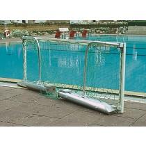 Paire de buts de water polo aluminium flottants