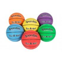Lot de 6 ballons de basket Dur-O-Sport