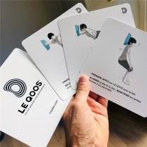 Lot de 18 cartes illustrées Le Qoos