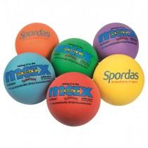 Jeu de 6 Poly-ballons Spordas Max 21,6cm